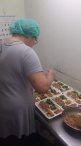 協會學員的職業訓練,培養廚師技能及便當製作。